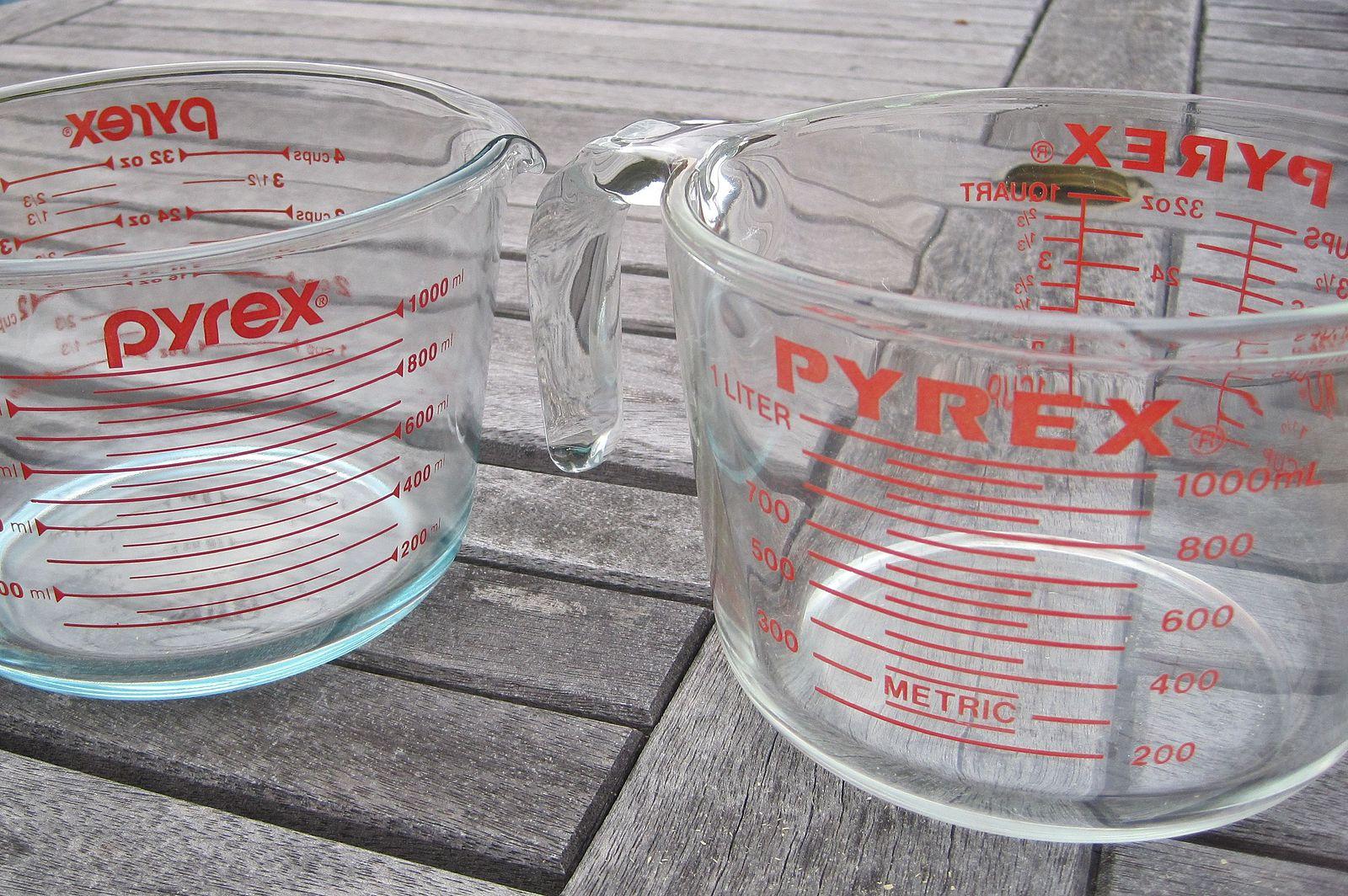 Pyrex measuring cups