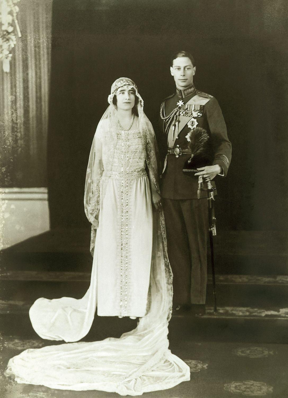 Queen Elizabeth Lyon Bowes and Duke of York