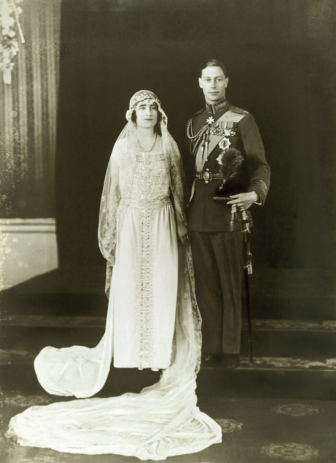 Queen Elizabeth Lyon Bowes and Duke of York