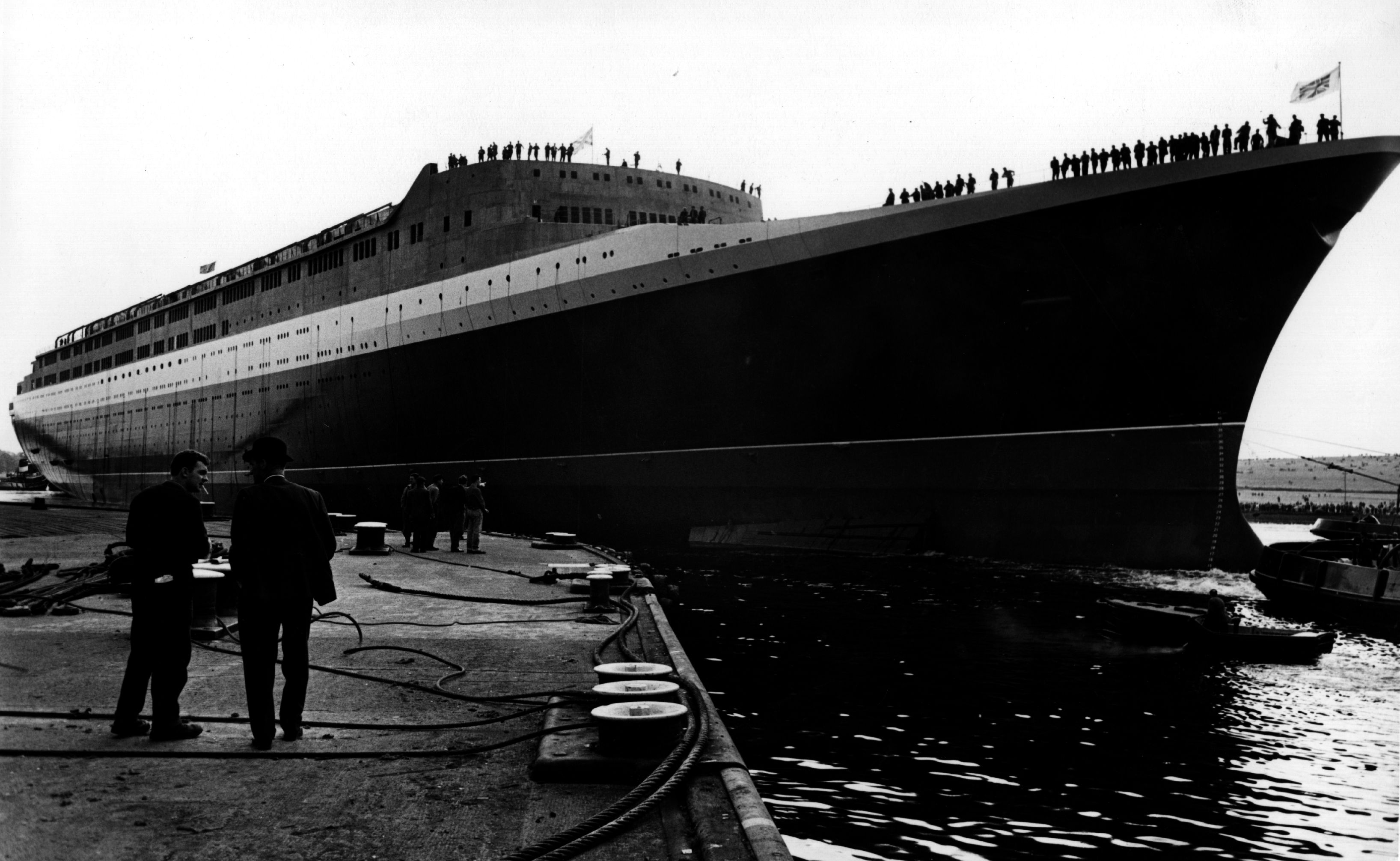 British passenger liner, The Queen Elizabeth II