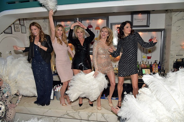 TV Personality, Bethenny Frankel hosts Arizona Beverages SkinnyGirl Sparklers new flavor launch party on January 20, 2015 in New York City