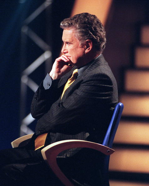 """Regis Philbin Host Of Abc's """"Who Wants To Be A Millionaire"""""""