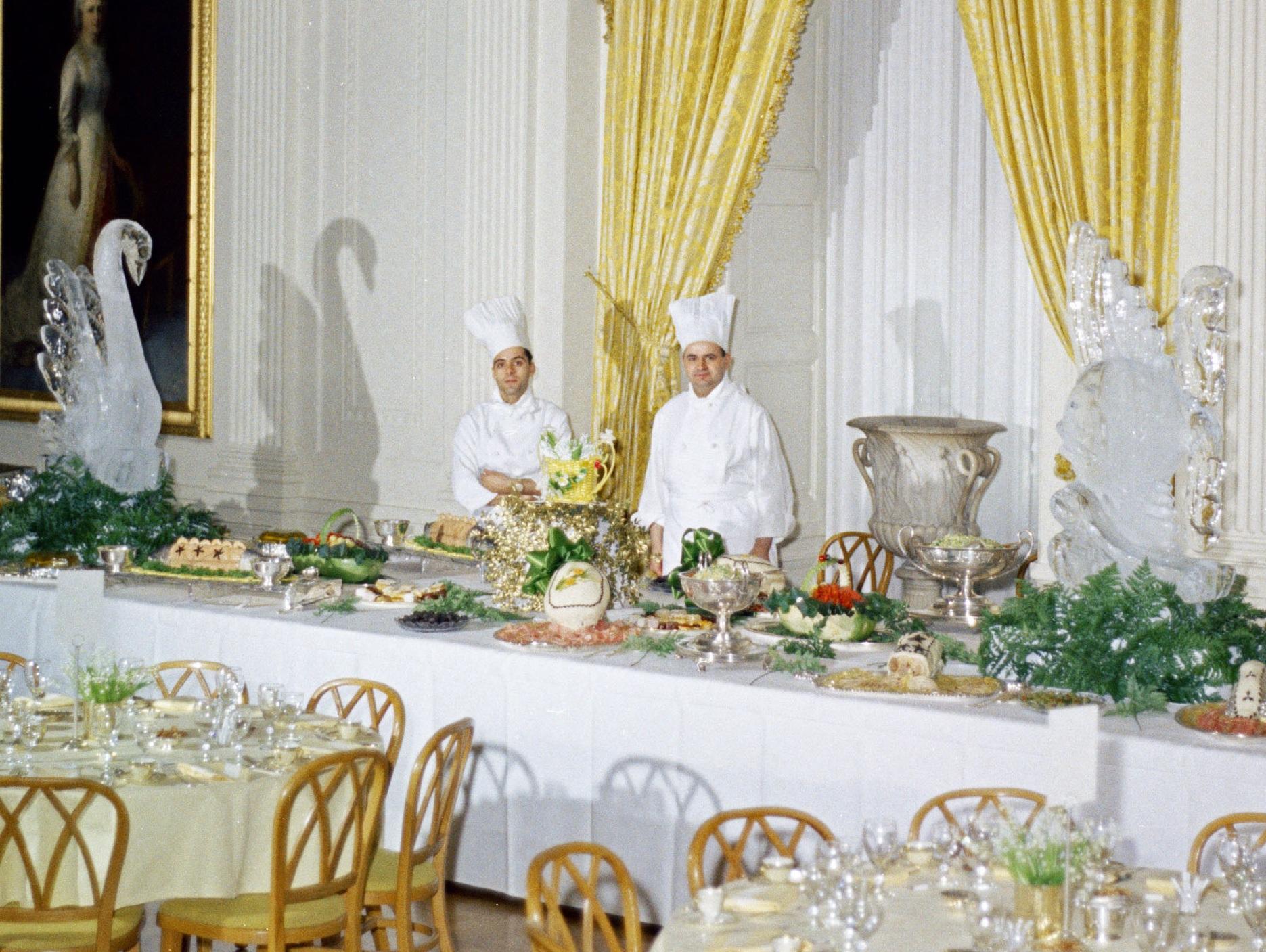 Rene Verdon Kennedy White House Chef