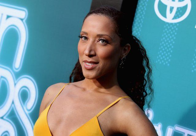 Robin Thede on a red carpet.