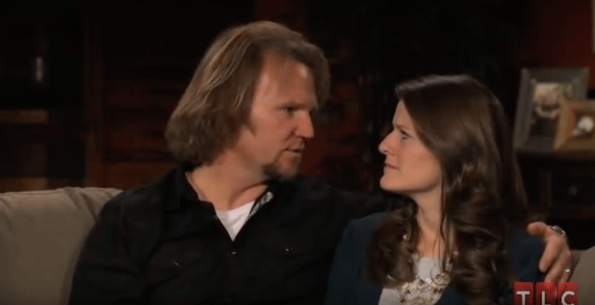 "Robyn Brown and Kody Brown from ""Sister Wives"""