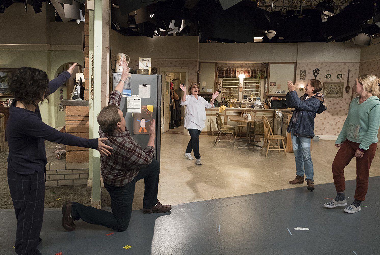 Roseanne behind the scenes 1