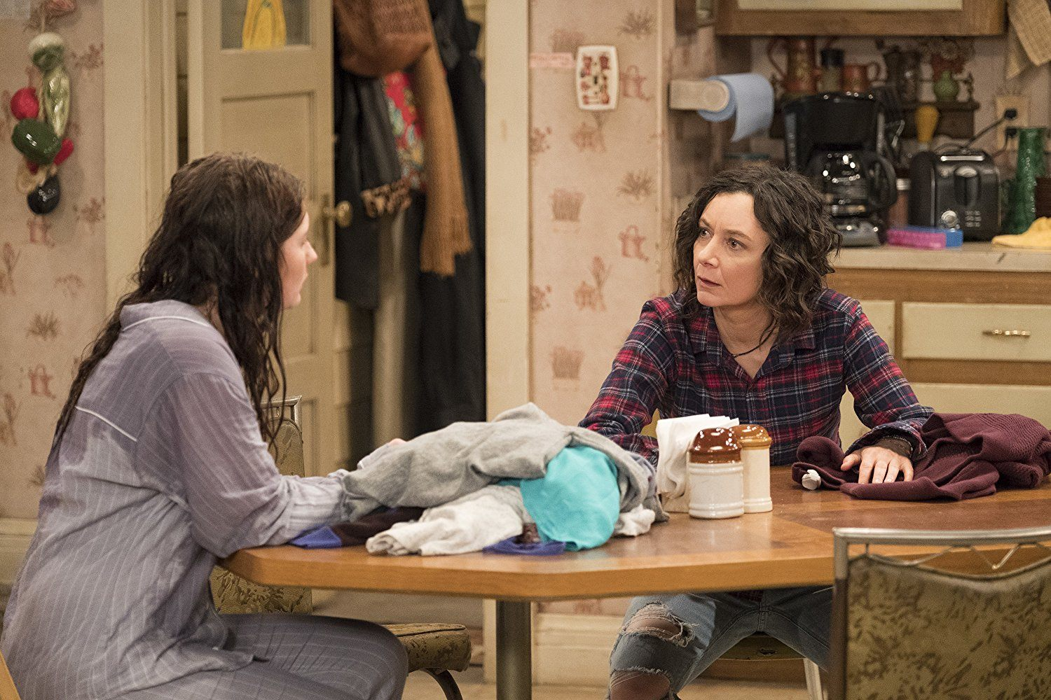 Sara Gilbert on Roseanne
