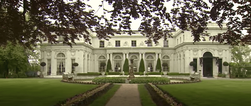 Roseclif mansion in Newport, Rhode Island