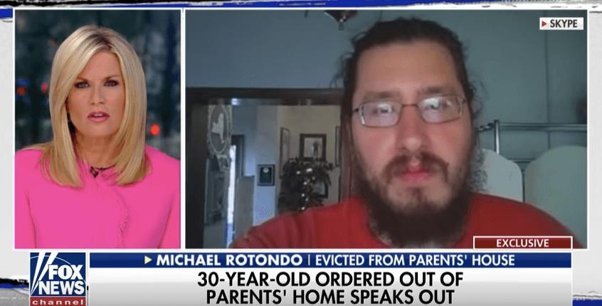 Michael Rotondo speaking to CNN