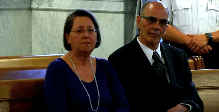 Michael Rotondo's parents in court