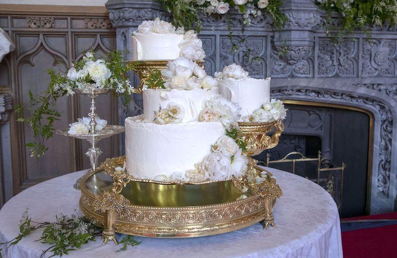 Prince Harry and Meghan Markle's wedding cake