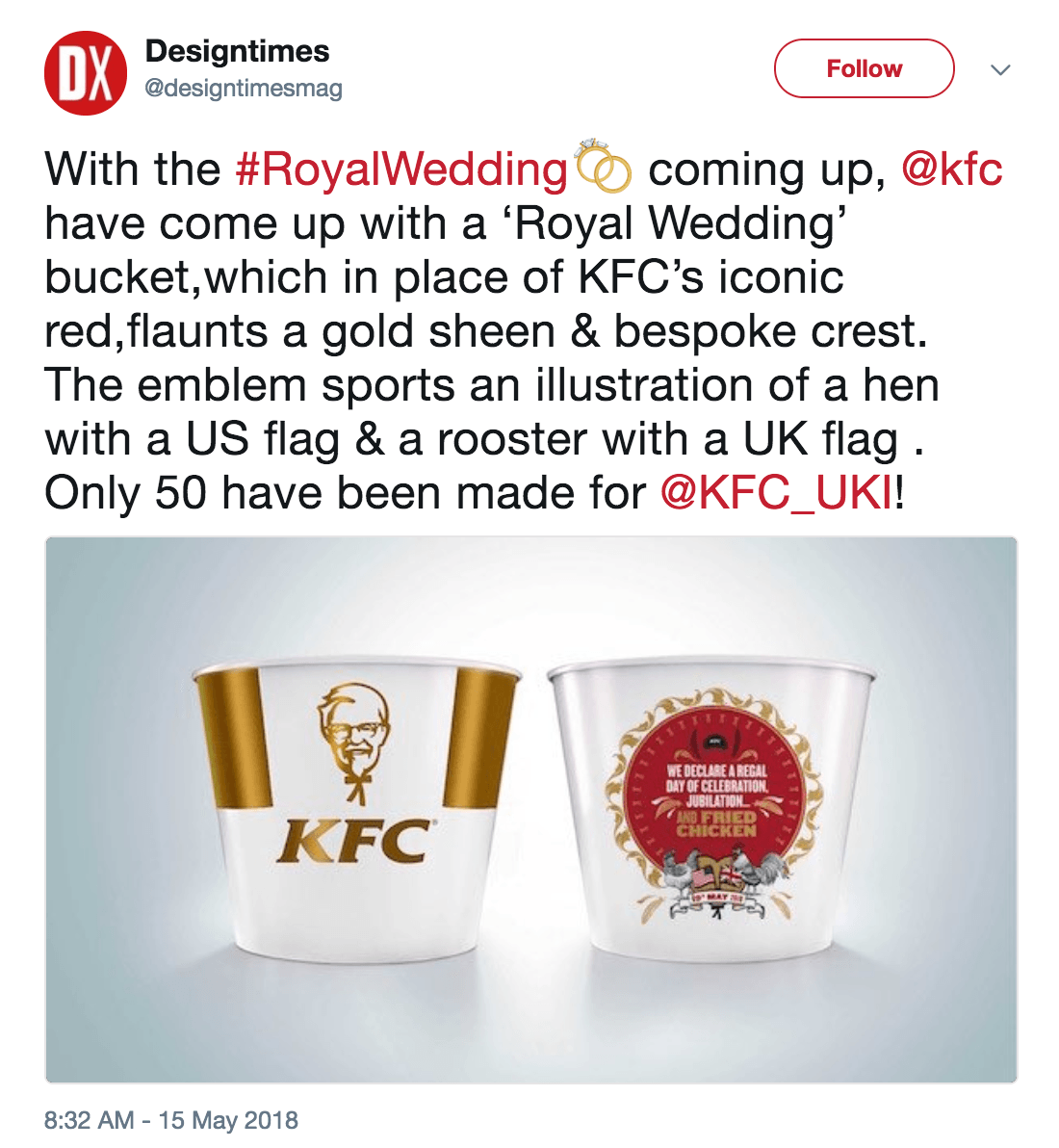 Royal wedding chicken