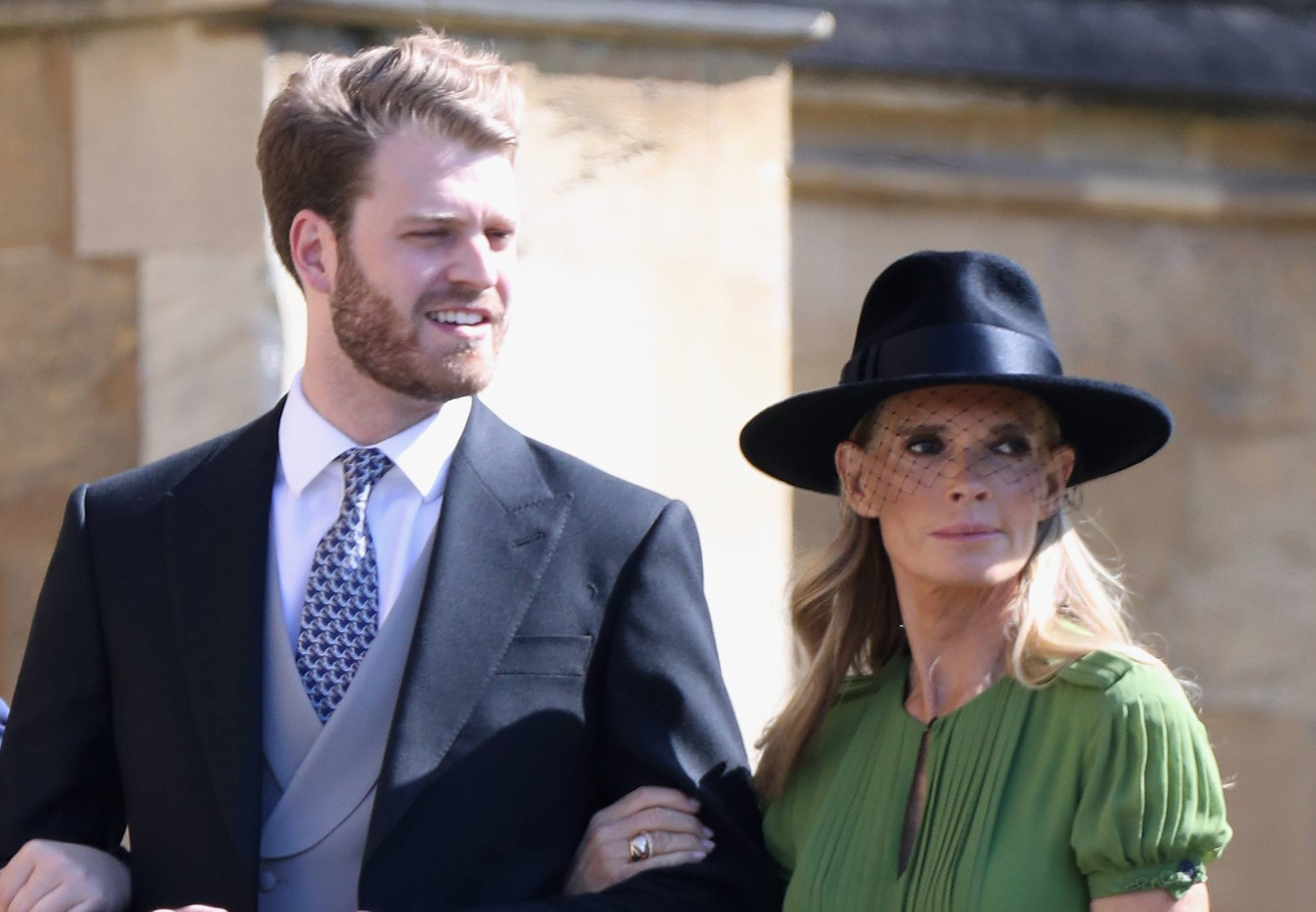 The Craziest Hats and Fascinators Seen at Prince Harry and Meghan Markle s  Royal Wedding c9a19cb58f5