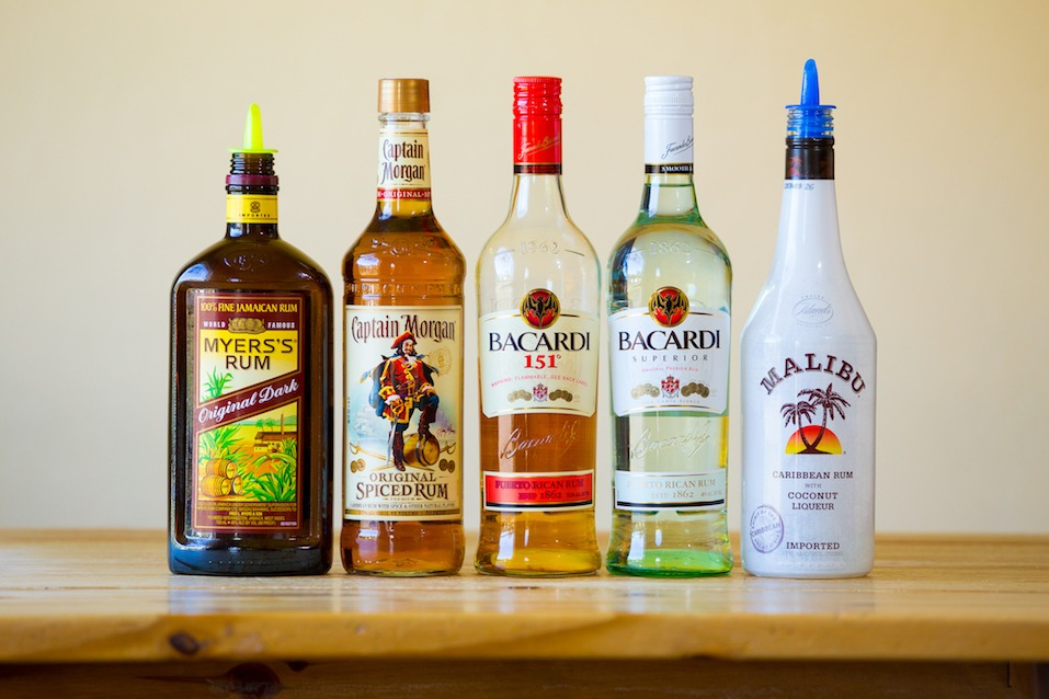 Rum selection