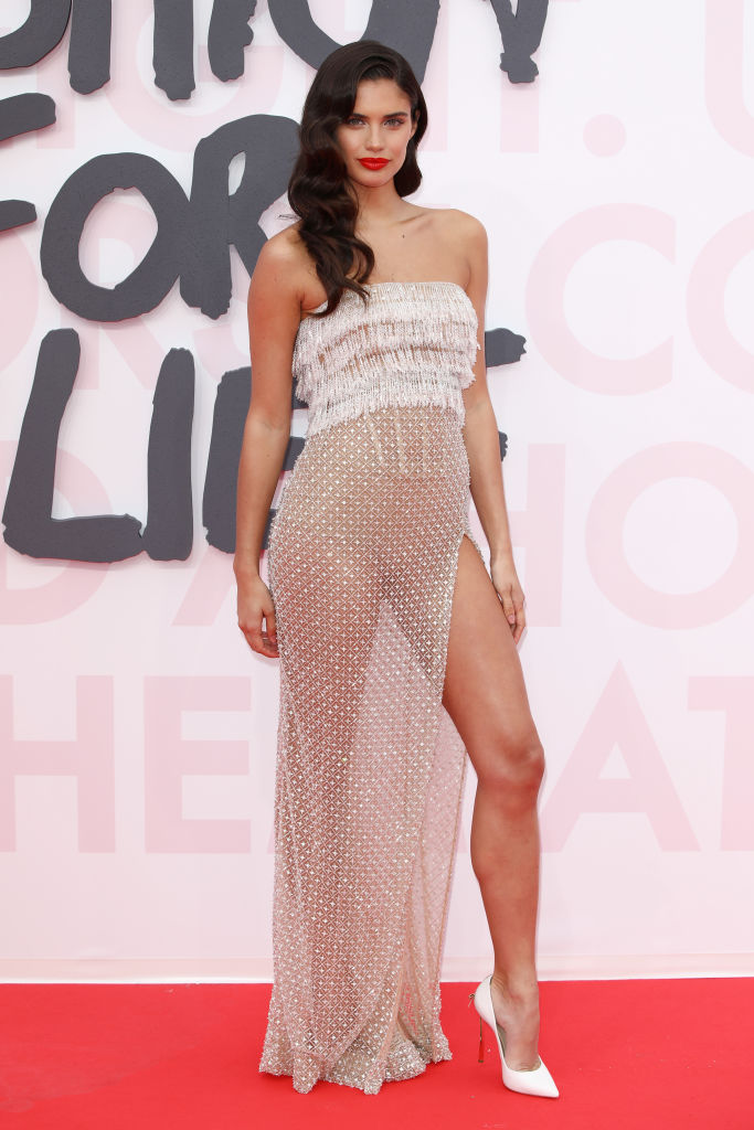 Sara Sampaio attends Fashion for Relief Cannes 2018