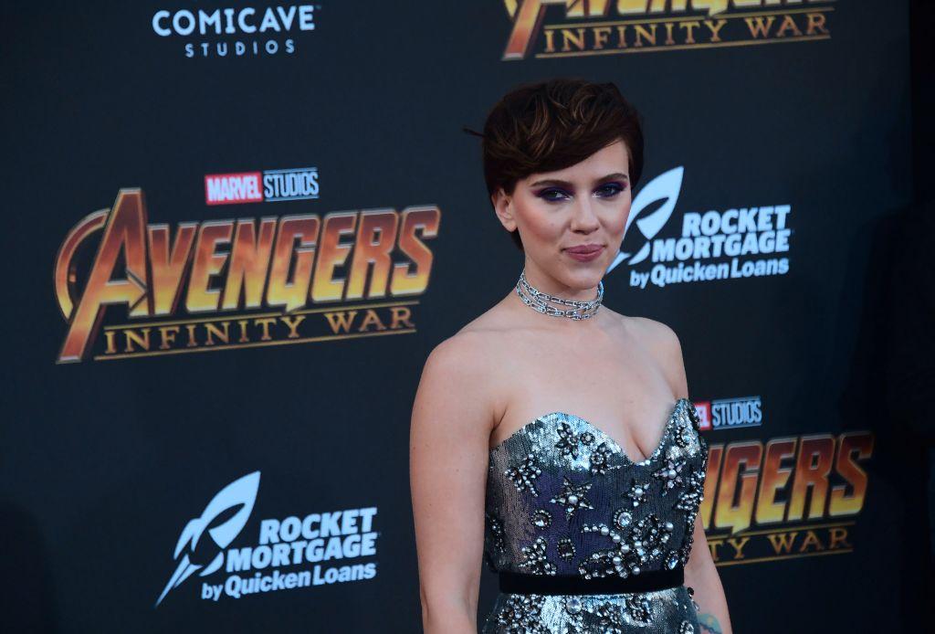 Scarlett Johansson premiere of avengers