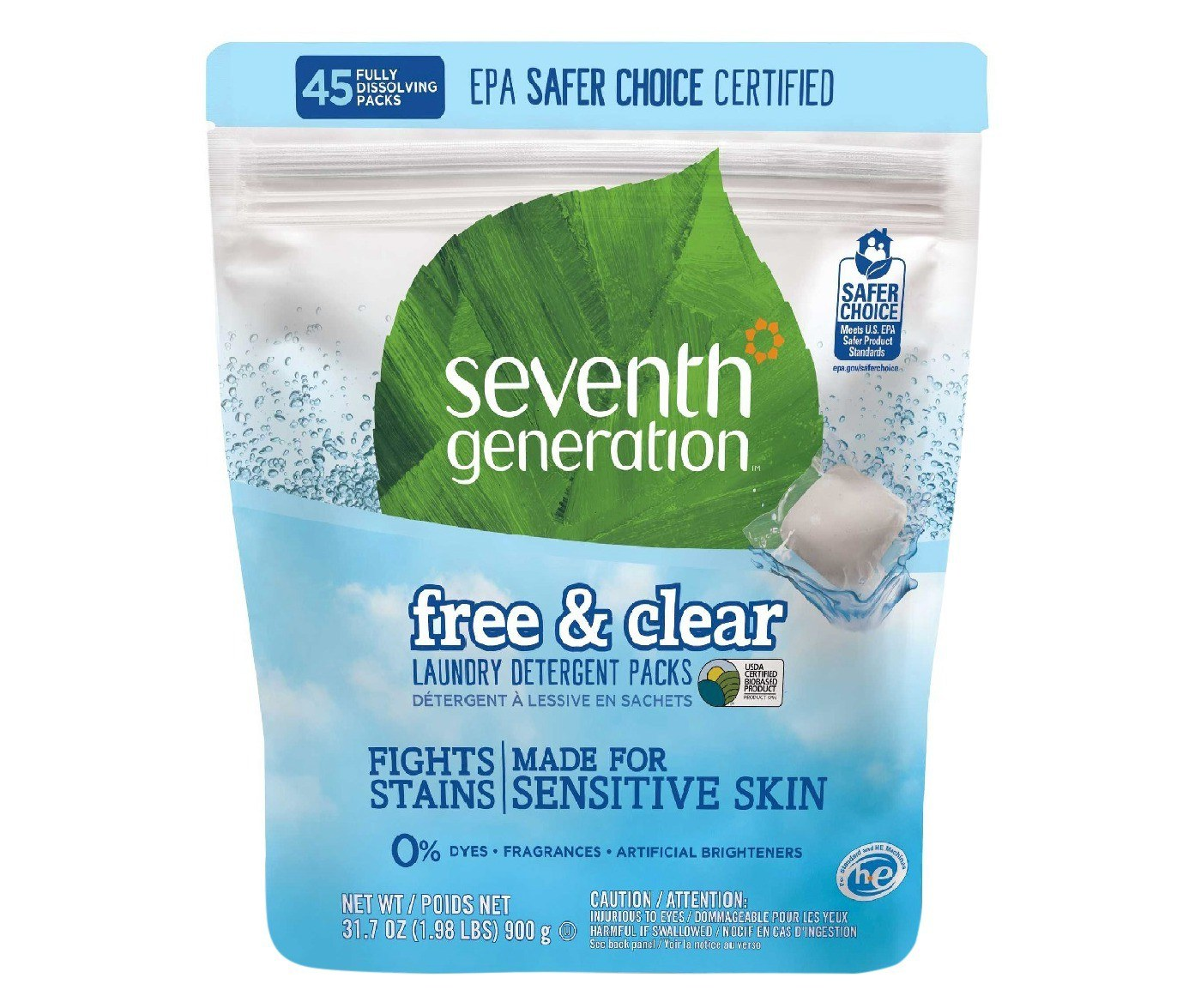Seventh Generation™ Free & Clear Laundry Packs