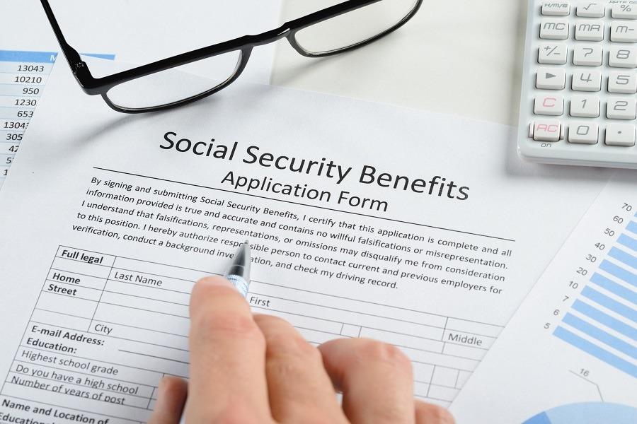 Social security form
