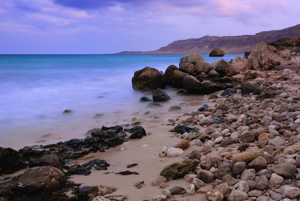 Aden gulf coast, Yemen