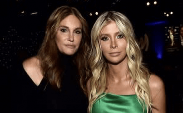 Caitlyn Jenner with Sophia Hutchinson.