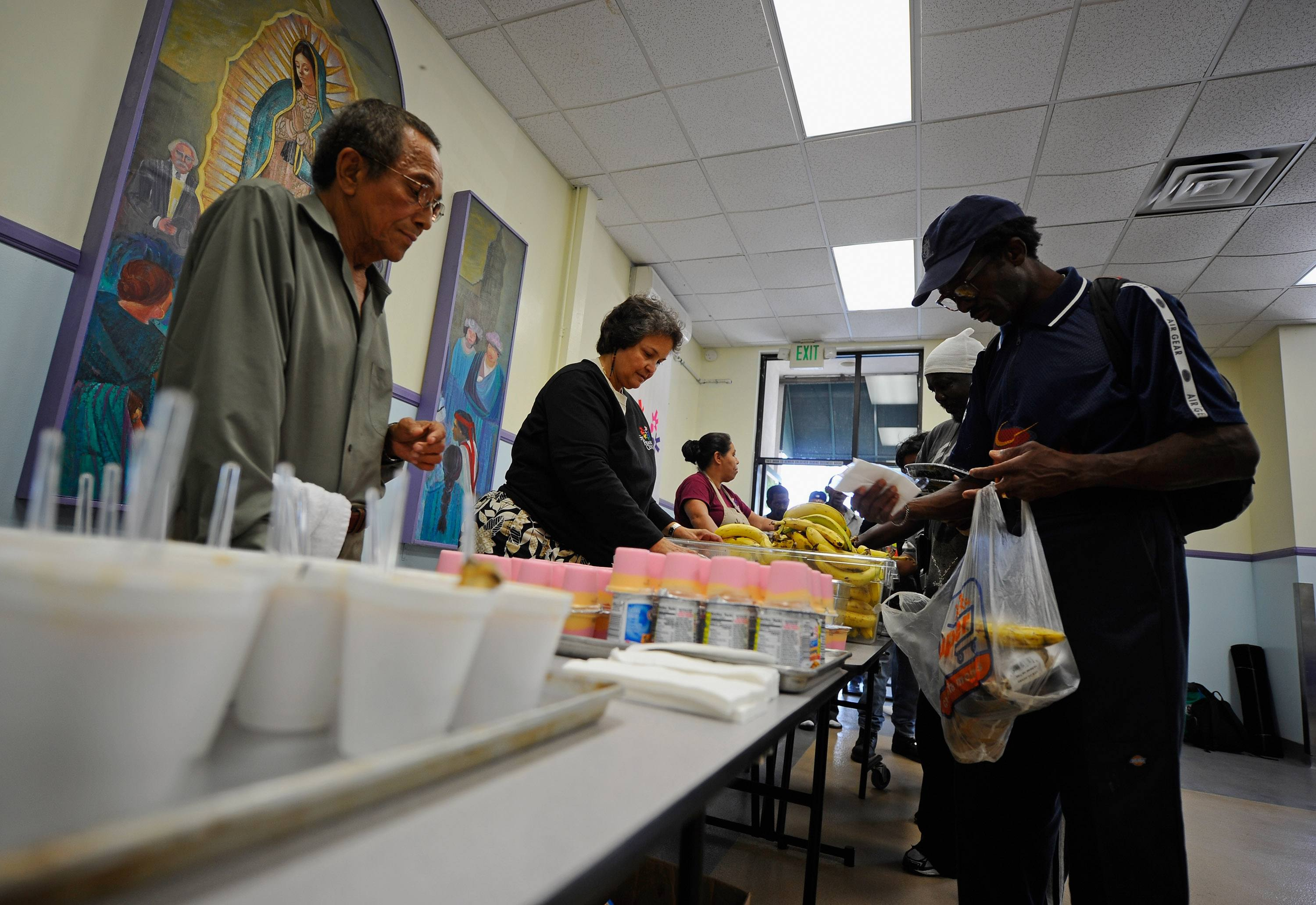 Soup Kitchen US Poverty Rate Rises To Highest Since 1983