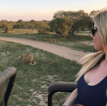 Christina El Moussa in South Africa