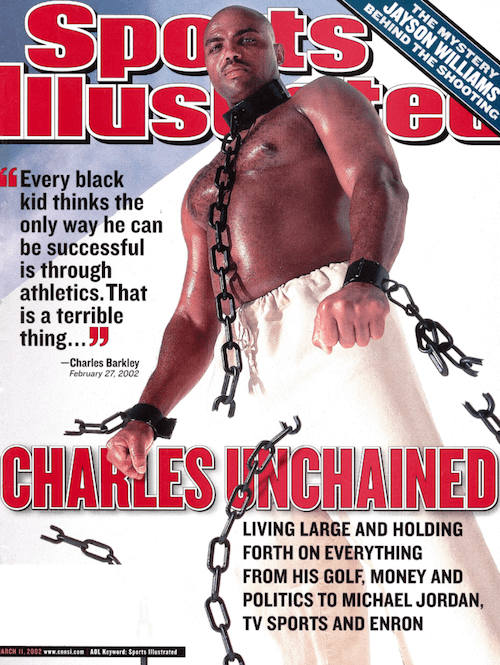 Charles Barkley 'Sports Illustrated' magazine cover.