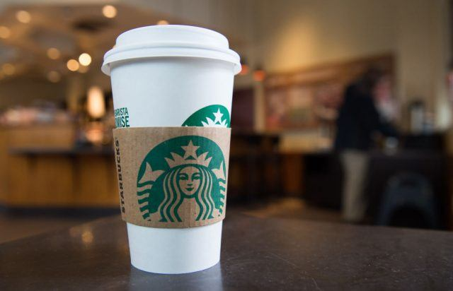 Starbucks charging for cups