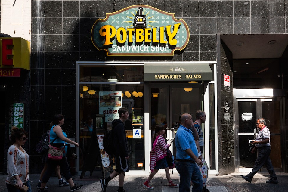 A Potbelly Sandwich Shop