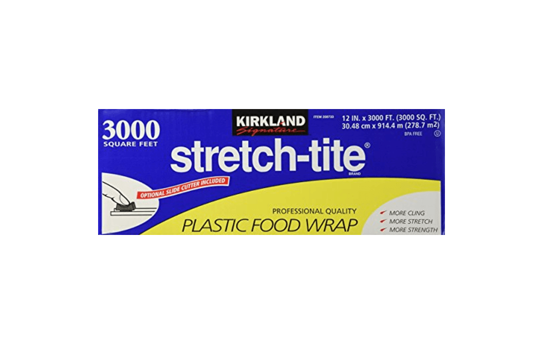 Stretch tite plastic wrap