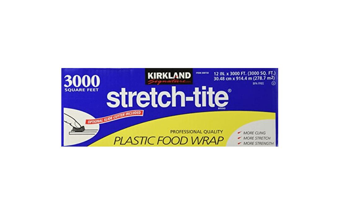 Stretch tite plastic wrap
