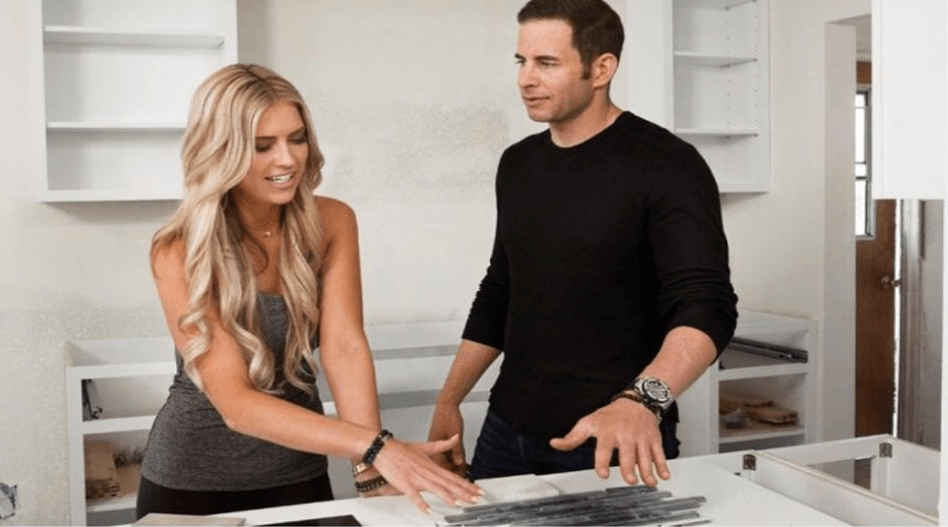 Tarek El Moussa and Christina