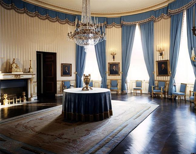 The Blue Room white house