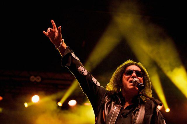 Gene Simmons preforms at The Children Matter Benefit Concert Featuring Gene Simmons