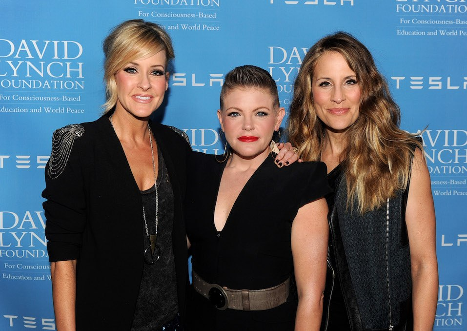 Musicians Martie Maguire, Natalie Maines and Emily Robison of the Dixie Chicks