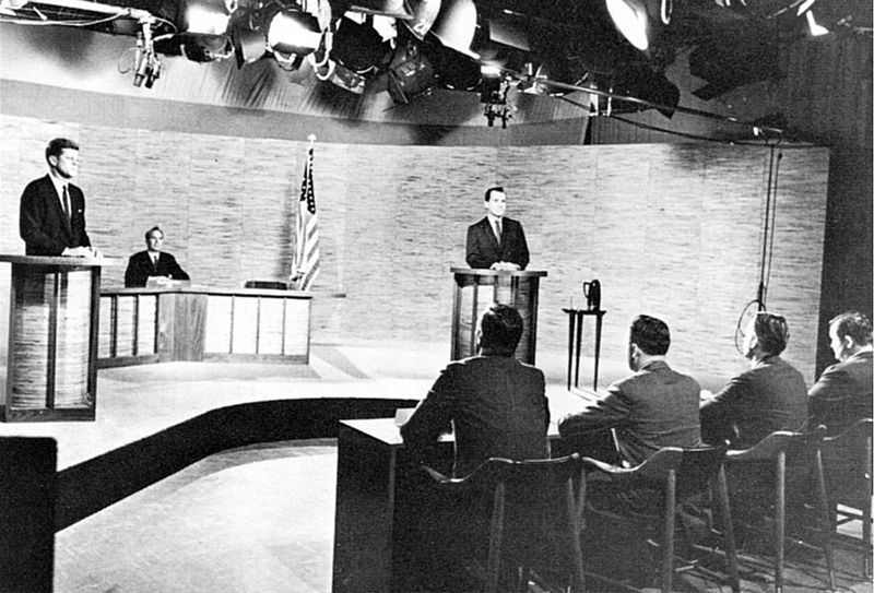 The Kennedy and Nixon debate