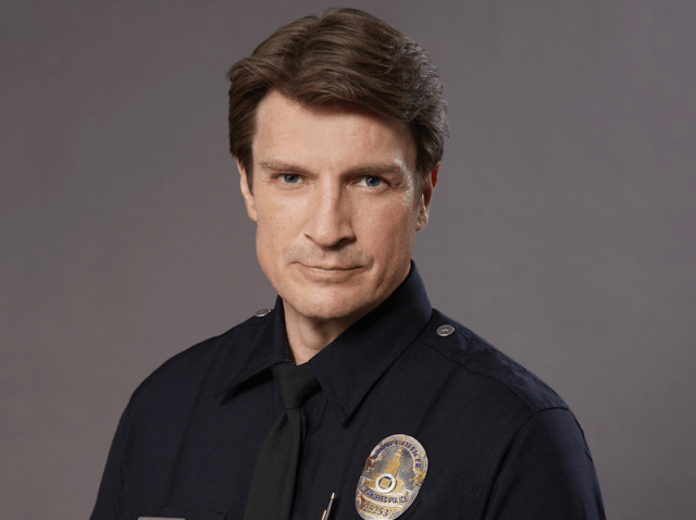 Nathan Fillion in 'The Rookie'.