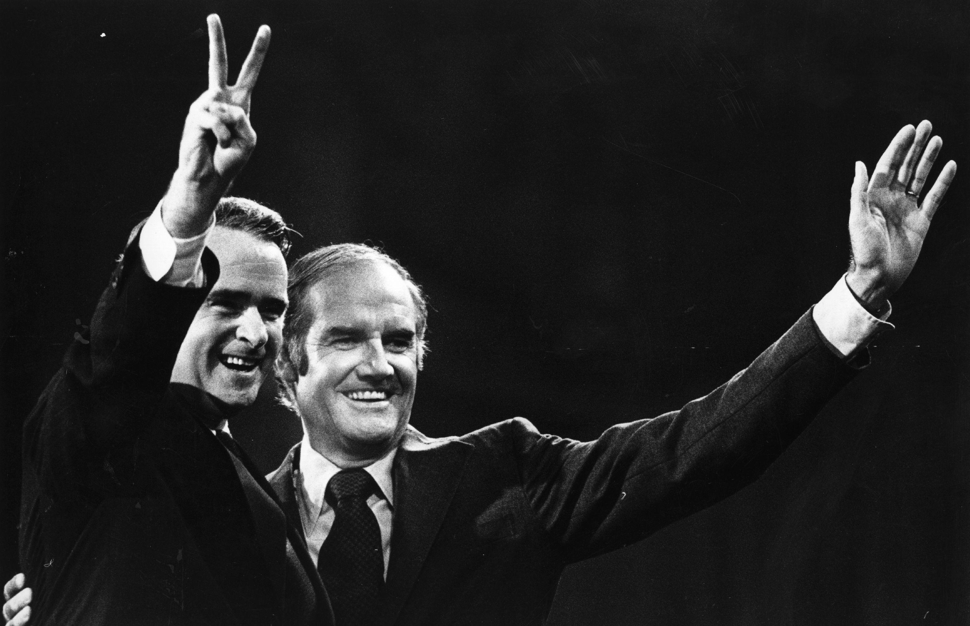 George McGovern and Thomas Eagleton