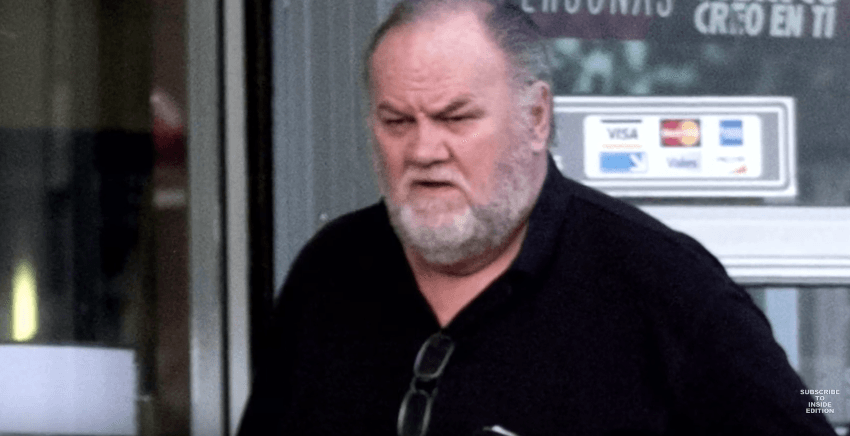 Thomas Markle, as captured by Inside Edition