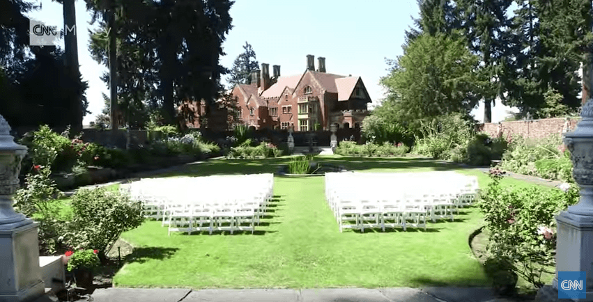 Thornewood Castle in Lakewood, Washington
