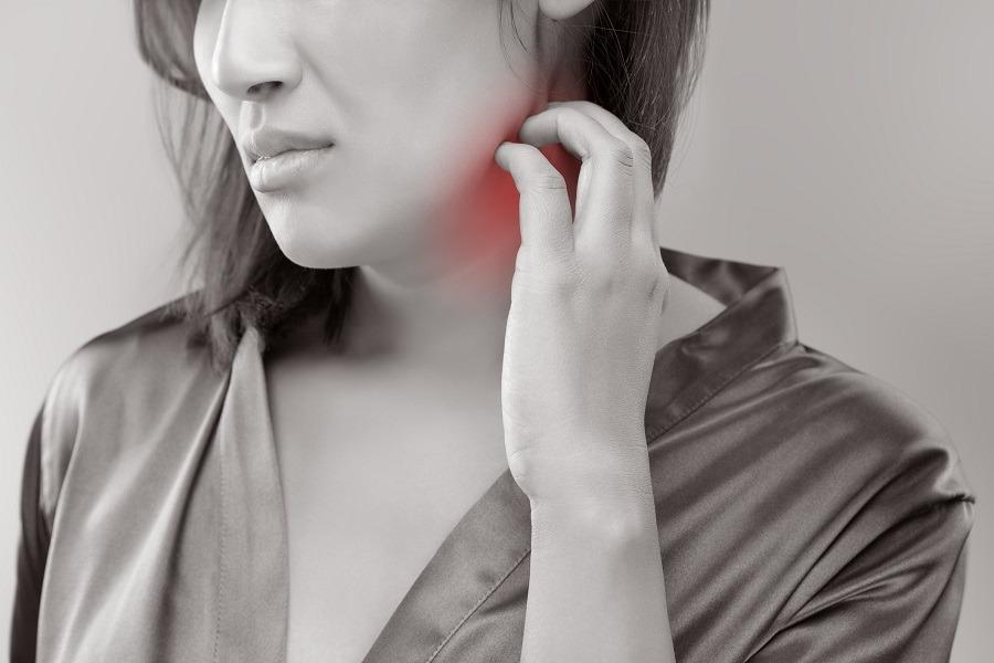 Painful neck