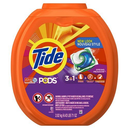Tide PODS 3 in 1 HE Turbo Laundry Detergent Pacs
