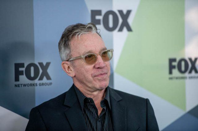 Tim Allen on a red carpet even for Fox Network Group.
