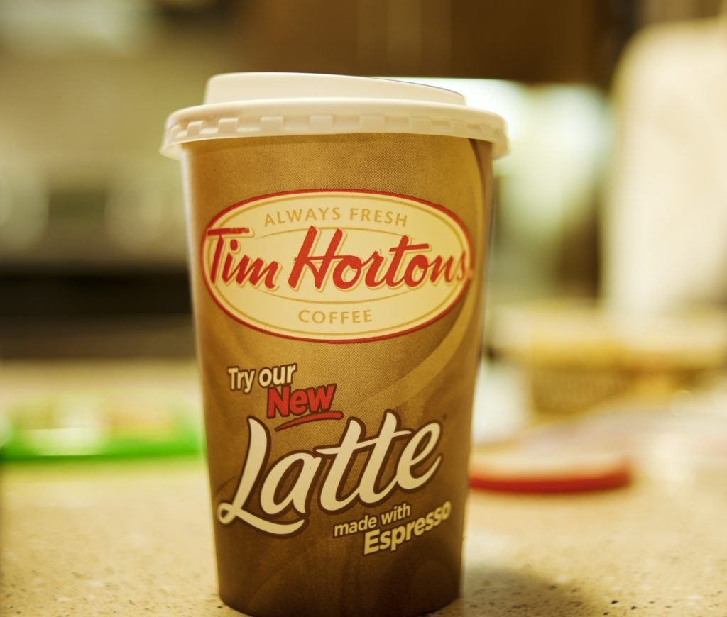 Tim Horton's New Espresso Beverages
