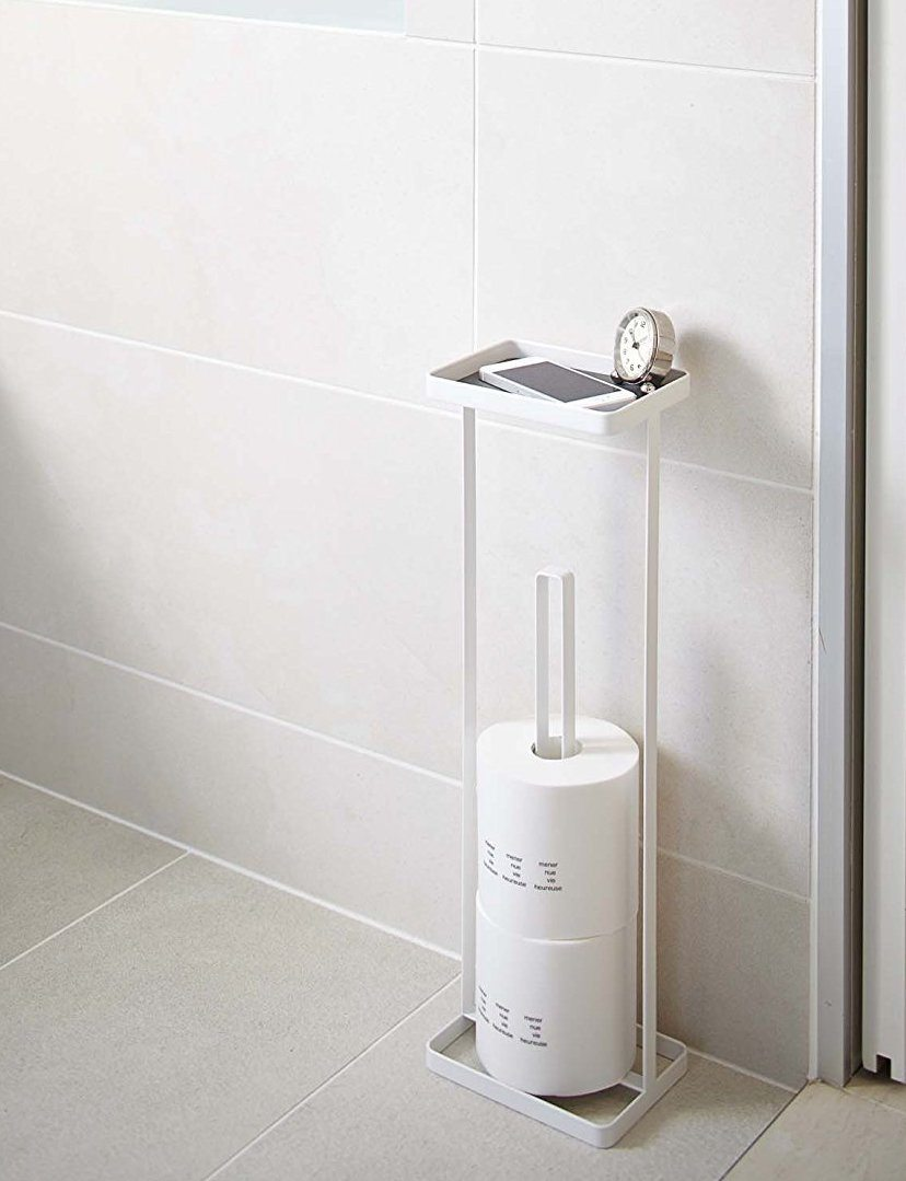Toilet paper roll stand