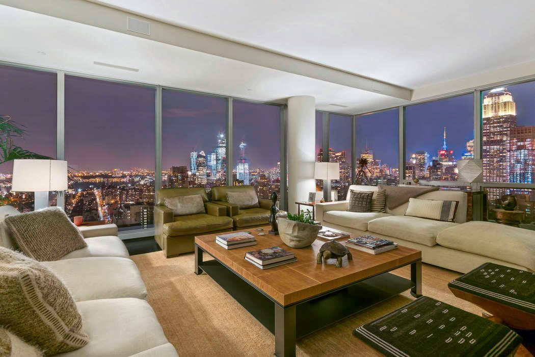 Tom Brady Apartment living room