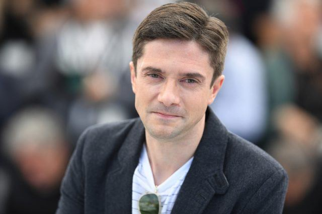 Topher Grace at the Cannes Film Festival.