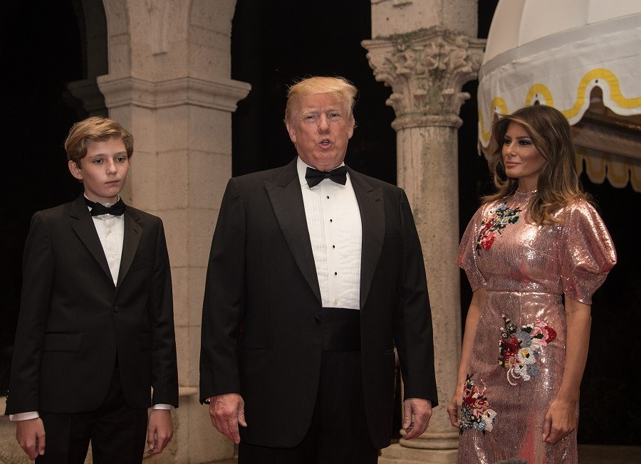 Trump-Melania-Trump-and-Barron