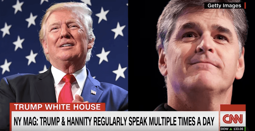 CNN speculates about Trump and Hannity's relationship