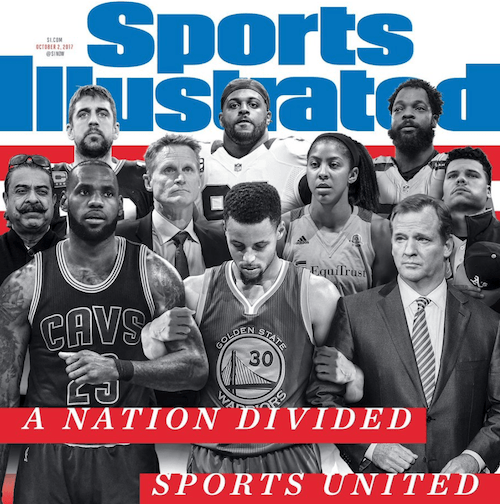 Sports Illustrated 'united' cover.
